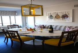 curved settee for round dining table trends also images amazing
