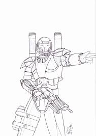 star wars clone trooper coloring pages for kids and for adults in