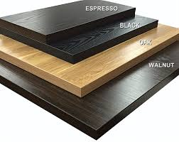 laminated wood table top tabletops