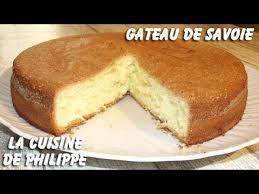 cuisine de gateau gâteau de savoie