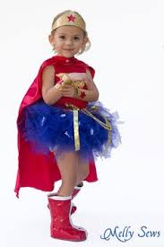 Halloween Costume Woman Woman Costume 3pc Skirt Red Cape Toddler Girls