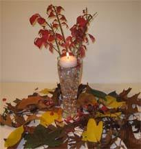 Vases With Flowers And Floating Candles Candle Centerpiece Ideas