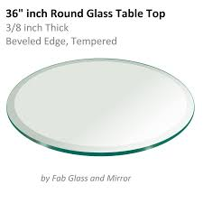 36 inch round tempered glass table top 36 inch beveled glass table top glass table pinterest glass