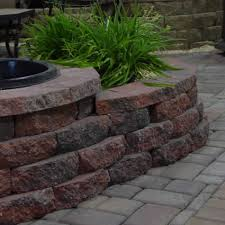 love how it looks the red black crestone ii retaining wall block
