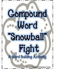 Free Printable Halloween Activities by Compound Word Snowball Fight Activity Free Printable First