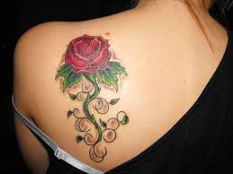romantic rose hip tattoos tattoo design pictures