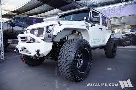 sema jeep 2016 2016 sema fusion bumpers jeep jk wrangler