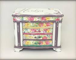 Girls Personalized Jewelry Box Custom Jewelry Box