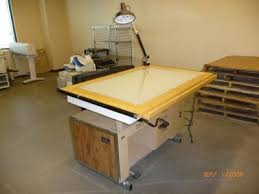 Drafting Table Mat Mayline Desk O Matic Ii Professional Drafting Light Table With