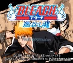 emuparadise bleach bleach erabareshi tamashi japan rom iso download for sony