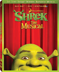amazon com shrek the musical blu ray dvd digitalhd shrek