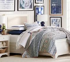from pottery barn cynthia upholstered storage bed pottery barn