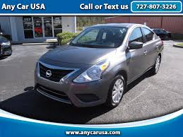 nissan versa sedan 2016 used cars for sale odessa fl 33556 any car usa