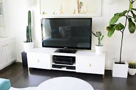 Mid Century Ikea Hack by Ikea Restyle Mid Century Tv Stand U2013 A Beautiful Mess