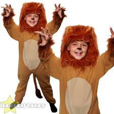 wizard of oz cowardly lion costume boys book character costumes world book day childs fancy dress