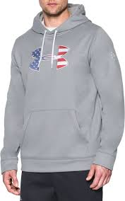 under armour men u0027s big flag logo armour fleece hoodie u0027s
