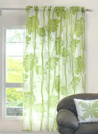 amazon com hawaiian tropical floral window treatment curtain