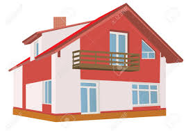 clipart house slanted roof free clipart house slanted roof