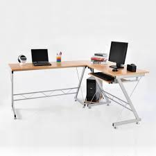 Office Desk Legs by Cool Office Table For Computer Sturdy Desk L Shaped White