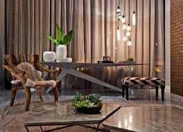 Modern Loft Furniture by Artwork And Contemporary Interior Design In A Modern Loft Founterior