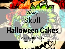 Halloween Skull Cakes by Top Skull Cakes Cakecentral Com