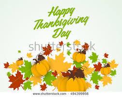 creative vector abstract thanksgiving day stock vector