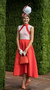 lexus melbourne cup homemade dress wins fashions on the field 9style