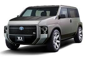 toyota sport utility vehicles toyota u0027s u0027toolbox u0027 concept sport utility minivan