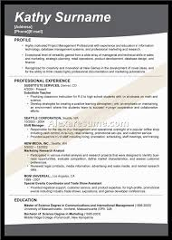 Project Management Resume Examples And Samples by Resume Template Great Executive Example Sample Cfo Of With