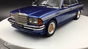 mercedes w123 amg otto mobile mercedes w123 amg resin scale 1 18 model ot221