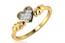 symbolic rings diamond heart rings symbolic as engagement