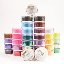 Where To Buy Edible Glitter Full Set Of 36 Rolkem Crystals Edible Glitter Colours For A