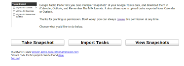 Google Snapshots How To Back Up Your Google Tasks Techerator