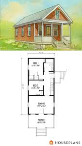 Cottage Style Home Plans by Cottage Style House Plan 2 Beds 1 Baths 544 Sq Ft Plan Shotgun