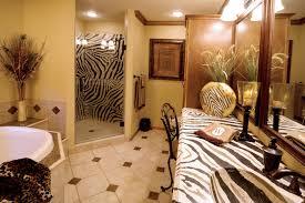 zebra bathroom decorating ideas bathroom with zebra countertop eclectic bathroom st