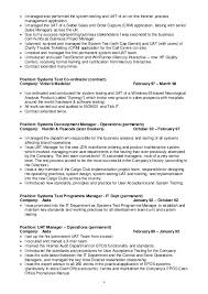 Software Testing Resume Samples For Freshers by Test Manager Cv 2015