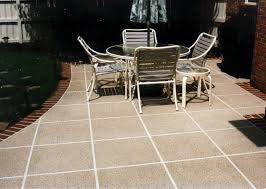 Outdoor Tile Patio Types Of Patio Material And Advantages About Patio Designs
