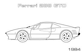 road sports cars car coloring pages