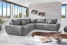 cuisine mega mobel canapé d angle basso gris sb meubles discount