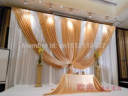 wedding backdrop gold compare prices on wedding backdrop swags gold online shopping buy