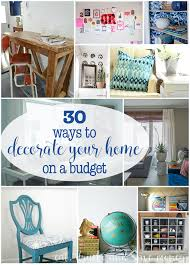 Decorating Homes On A Budget 30 Ways To Decorate Your Home On A Budget Eat Drink And Save Money