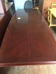 Mahogany Boardroom Table Conference Tables U2014 Ellis Vanpelt Inc