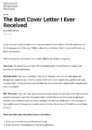amazing best cover letter ever received 97 in free cover letter