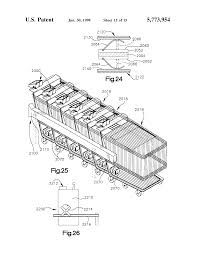patent us5773954 battery charging station for shopping cart