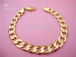 men bracelet design images 2018 wholesale 24k gold plated men bracelet chain cool design high jpg