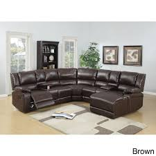 Motion Sectional Sofa Segudet Bonded Leather Motion Sectional Sofa Free Shipping Today