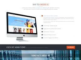 responsive one page bootstrap template free download