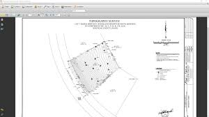 import a surveyor dwg file for a site plan or terrain perimeter