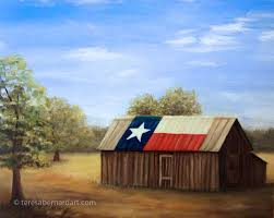 Texas Flag Gif Texas Landscape Teresa Bernard Oil Paintings
