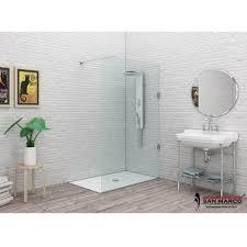 ferbox cabine doccia doccia a parete fissa essenzial walk in